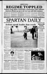 Spartan Daily, April 10, 2003 by San Jose State University, School of Journalism and Mass Communications
