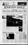 Spartan Daily, April 14, 2003 by San Jose State University, School of Journalism and Mass Communications