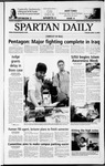 Spartan Daily, April 15, 2003 by San Jose State University, School of Journalism and Mass Communications