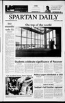 Spartan Daily, April 18, 2003 by San Jose State University, School of Journalism and Mass Communications