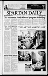 Spartan Daily, April 22, 2003 by San Jose State University, School of Journalism and Mass Communications