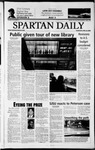 Spartan Daily, April 24, 2003 by San Jose State University, School of Journalism and Mass Communications