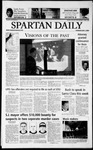 Spartan Daily, May 1, 2003 by San Jose State University, School of Journalism and Mass Communications