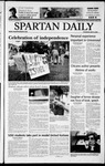 Spartan Daily, May 8, 2003 by San Jose State University, School of Journalism and Mass Communications