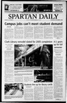 Spartan Daily, September 3, 2003 by San Jose State University, School of Journalism and Mass Communications