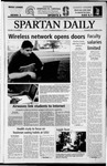 Spartan Daily, September 4, 2003 by San Jose State University, School of Journalism and Mass Communications