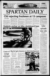Spartan Daily, September 9, 2003 by San Jose State University, School of Journalism and Mass Communications