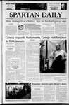 Spartan Daily, September 22, 2003 by San Jose State University, School of Journalism and Mass Communications
