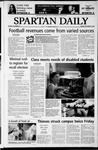 Spartan Daily, September 23, 2003 by San Jose State University, School of Journalism and Mass Communications