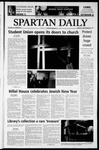 Spartan Daily, September 29, 2003 by San Jose State University, School of Journalism and Mass Communications