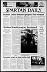 Spartan Daily, October 1, 2003 by San Jose State University, School of Journalism and Mass Communications