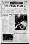 Spartan Daily, October 8, 2003 by San Jose State University, School of Journalism and Mass Communications