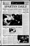 Spartan Daily, October 20, 2003 by San Jose State University, School of Journalism and Mass Communications