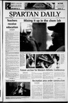 Spartan Daily, October 21, 2003