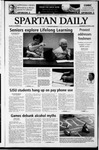 Spartan Daily, October 22, 2003 by San Jose State University, School of Journalism and Mass Communications