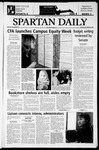 Spartan Daily, October 28, 2003 by San Jose State University, School of Journalism and Mass Communications