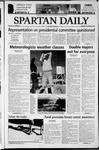 Spartan Daily, October 30, 2003