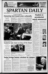 Spartan Daily, October 31, 2003 by San Jose State University, School of Journalism and Mass Communications