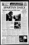 Spartan Daily, November 3, 2003 by San Jose State University, School of Journalism and Mass Communications