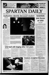 Spartan Daily, November 11, 2003 by San Jose State University, School of Journalism and Mass Communications