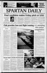 Spartan Daily, November 17, 2003