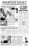 Spartan Daily, February 12, 2004 by San Jose State University, School of Journalism and Mass Communications