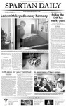 Spartan Daily, February 13, 2004 by San Jose State University, School of Journalism and Mass Communications