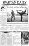Spartan Daily, February 20, 2004 by San Jose State University, School of Journalism and Mass Communications