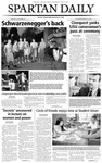 Spartan Daily, March 11, 2004 by San Jose State University, School of Journalism and Mass Communications