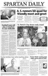 Spartan Daily, March 18, 2004 by San Jose State University, School of Journalism and Mass Communications