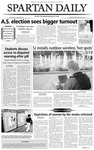 Spartan Daily, March 24, 2004 by San Jose State University, School of Journalism and Mass Communications