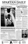 Spartan Daily, April 9, 2004 by San Jose State University, School of Journalism and Mass Communications