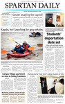 Spartan Daily, April 13, 2004 by San Jose State University, School of Journalism and Mass Communications