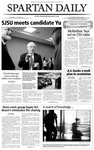 Spartan Daily, April 14, 2004 by San Jose State University, School of Journalism and Mass Communications