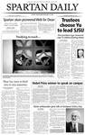 Spartan Daily, April 21, 2004 by San Jose State University, School of Journalism and Mass Communications