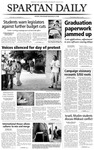 Spartan Daily, April 22, 2004 by San Jose State University, School of Journalism and Mass Communications
