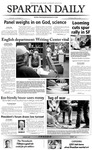 Spartan Daily, April 27, 2004 by San Jose State University, School of Journalism and Mass Communications
