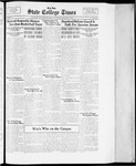 State College Times, January 17, 1934