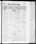 State College Times, March 30, 1934 by San Jose State University, School of Journalism and Mass Communications