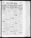 State College Times, April 5, 1934 by San Jose State University, School of Journalism and Mass Communications